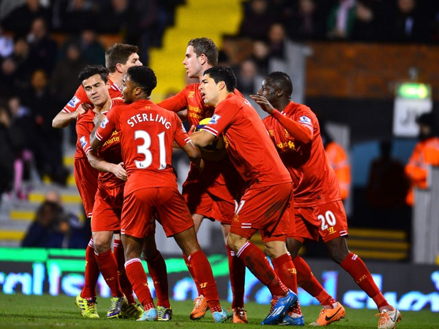 Result: Late Gerrard penalty earns Liverpool comeback win