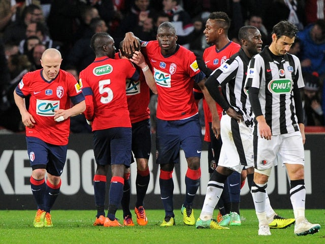 Result: Lille through after shootout win