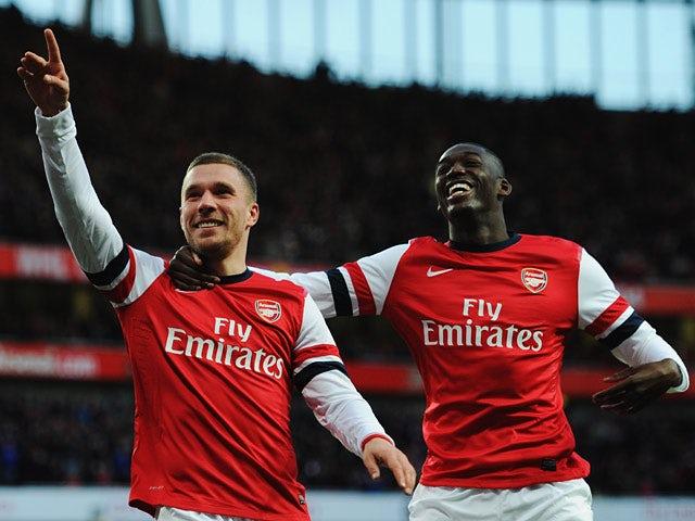 Result: Arsenal edge past Liverpool