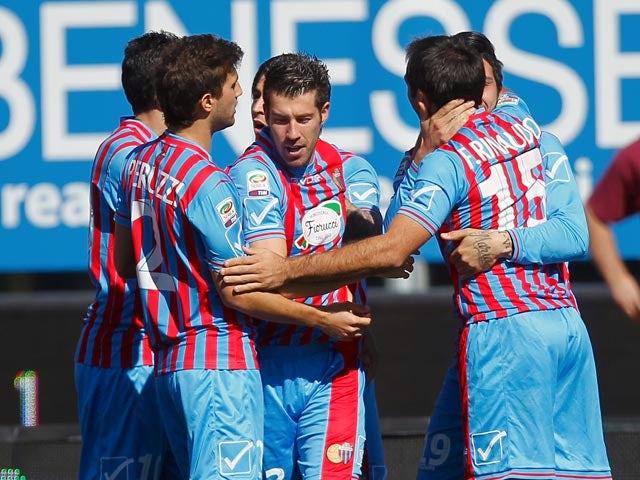 Result: Catania stun Lazio