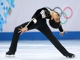 Michael Christian Martinez of the Philippines competes during the Men's Figure Skating Short Program on day 6 of the Sochi 2014 Winter Olympics at the at Iceberg Skating Palace on February 13, 2014