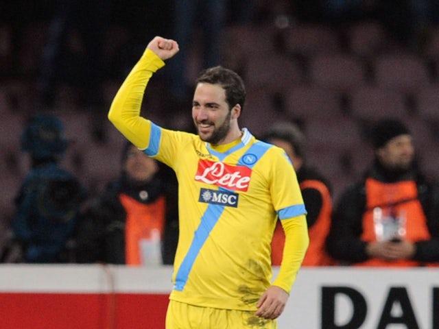Result: Napoli into Coppa Italia final