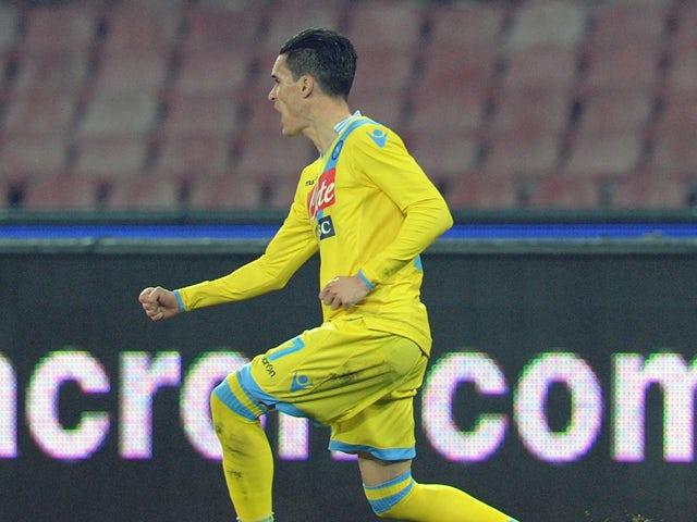 Result: Callejon hands Napoli crucial win