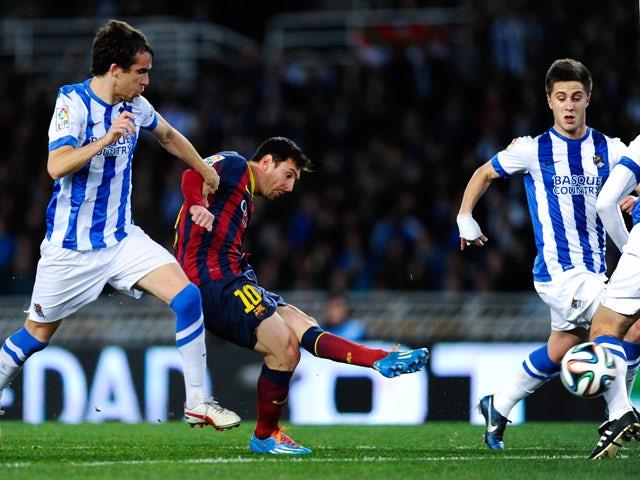 Result: Barcelona reach Copa del Rey final