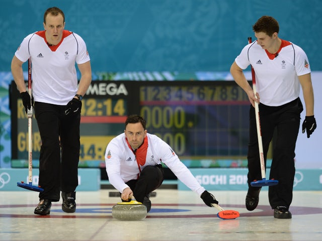 Result: Team GB win men's curling opener at Sochi Games ...