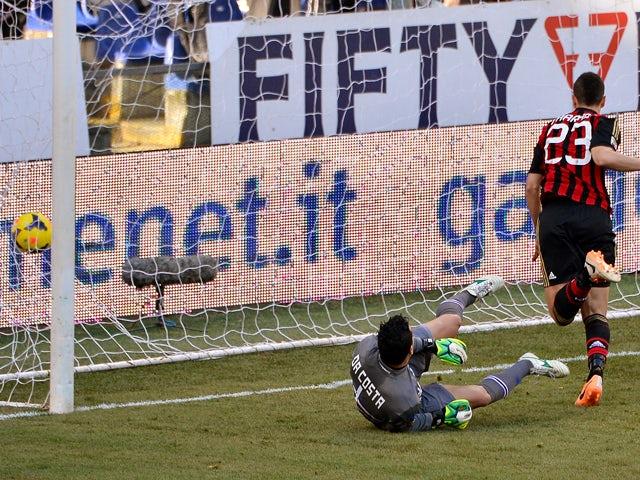 Result: Milan ease past Sampdoria