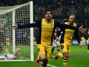 Atletico in control over Milan