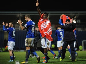 Chesterfield shock Burnley with late winner