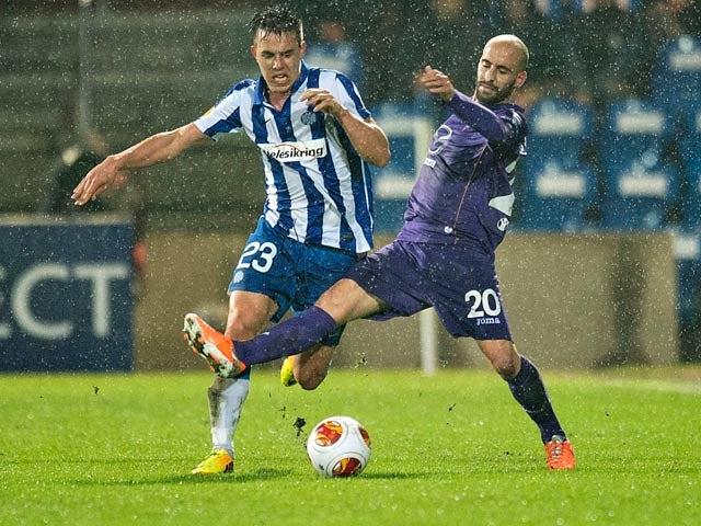Result: Fiorentina dominate in Esbjerg