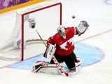 Carey Price #31 of Canada makes a save against Norway during the Men's Ice Hockey Preliminary Round Group B game on February 13, 2014