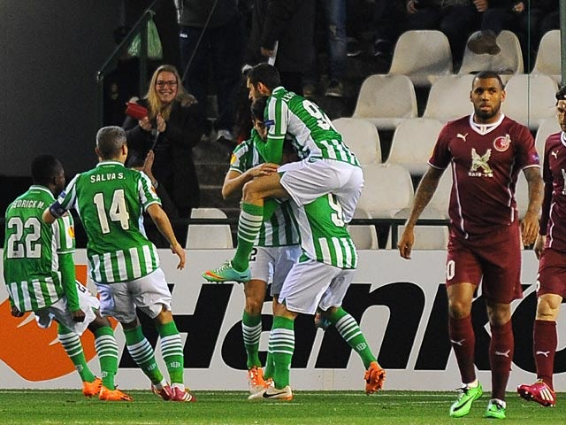 Result: Rubin snatch late draw against Betis