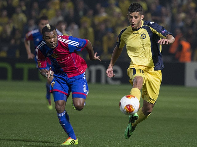 Result: Basel held to goalless draw in Isreal