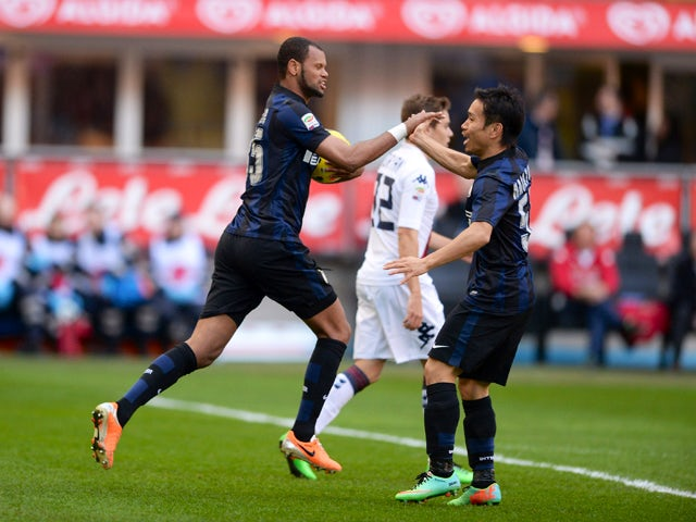 Result: Inter Milan held by Cagliari