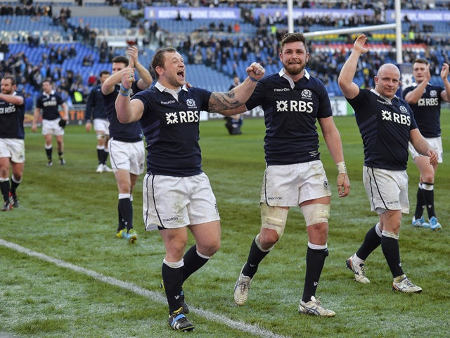 Result: Scotland triumphant in Rome
