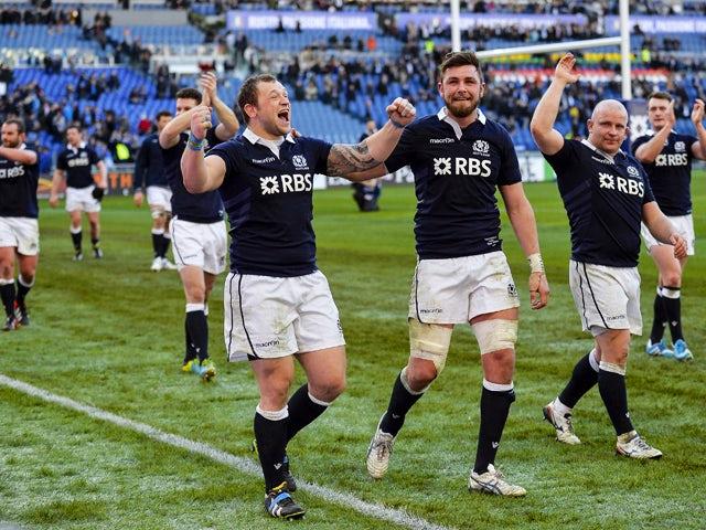Result: Scotland triumphant in Rome