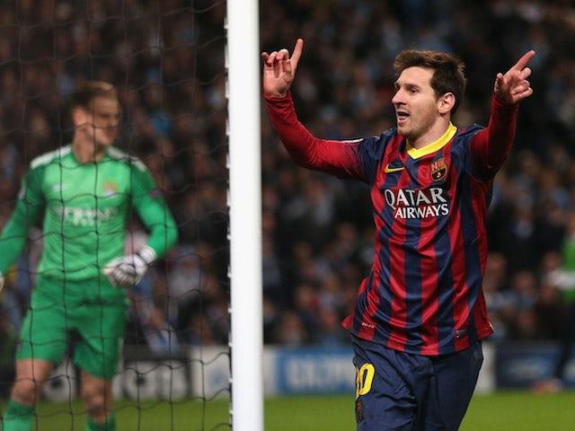 Result: Barcelona see off Man City