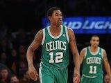 MarShon Brooks #12 of the Boston Celtics plays against the New York Knicks at Madison Square Garden on December 8, 2013