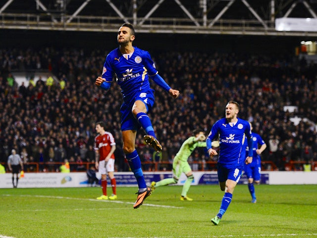 Result: Mahrez earns Leicester a point