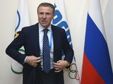 Ukraine's Sergey Bubka, executive board member arrives for the opening session of the International Olympic Committee (IOC) executive board meeting in Sochi prior to the start of the 2014 Sochi Winter Olympics on February 2, 2014