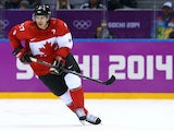 Sidney Crosby #87 of Canada skates during the Men's Ice Hockey Semifinal Playoff against the United States on Day 14 of the 2014 Sochi Winter Olympics at Bolshoy Ice Dome on February 21, 2014