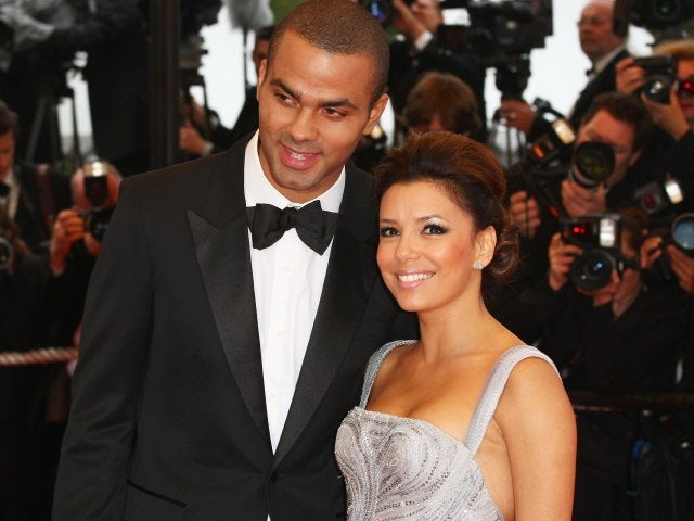 Tony Parker and Eva Longoria attend the Cannes Film Festival on May 15, 2009.