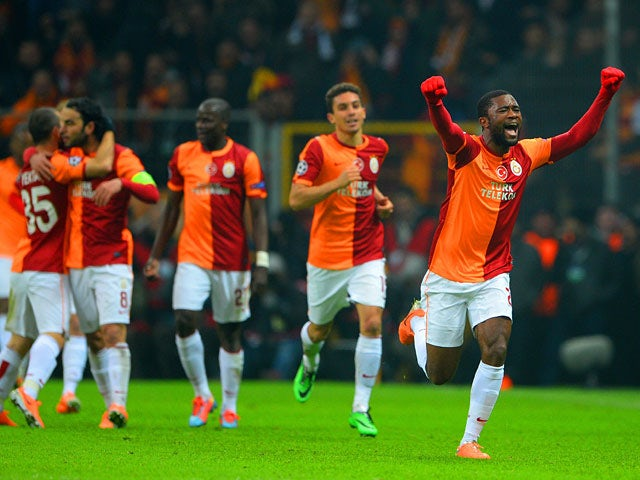 Result: Galatasaray fight back for draw