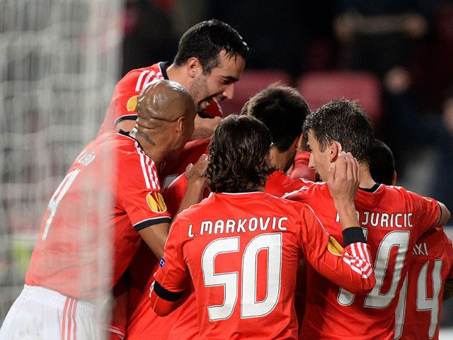 Result: Benfica comfortably through to last 16