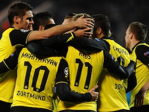 Dortmund come from two down to win