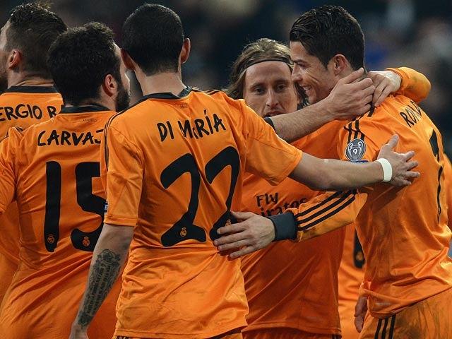Result: Madrid thrash Schalke