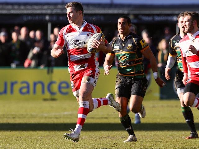 Result: Saints thrash Gloucester