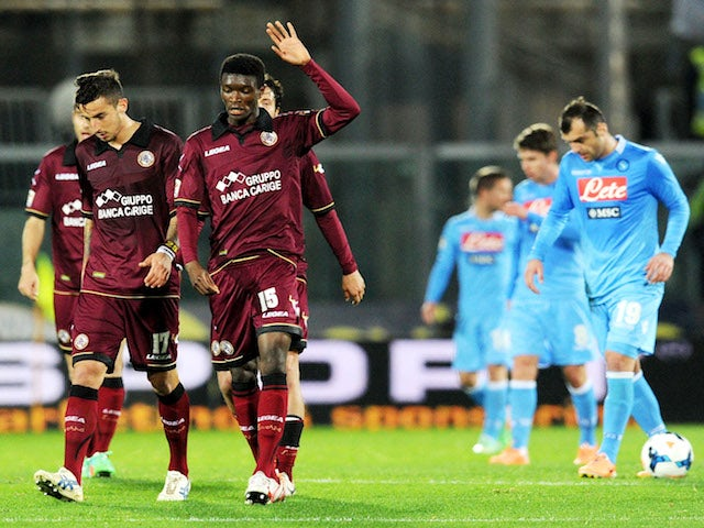 Result: Livorno hold Napoli to draw