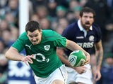 Ireland's Jonny Sexton in action against Scotland during the Six Nations on February 2, 2014