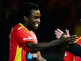 Oostende's Jordan Lukaku in action against Genk in their Jupiler Pro League match on November 23, 2013