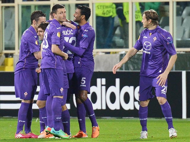 Result: Fiorentina safely through in Europa League