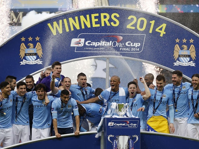 Result: Manchester City win League Cup