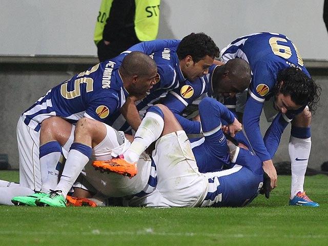 Result: Stubborn Porto fight back to go through
