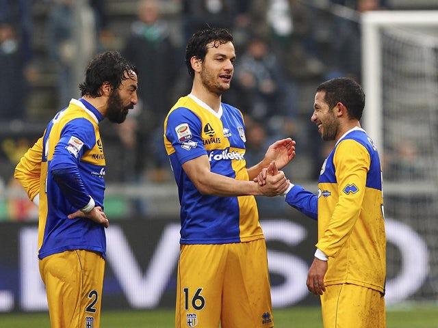 Result: Parma edge past 10-man Sassuolo