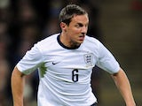 Phil Jagielka of England in action during the international friendly match between England and Germany at Wembley Stadium on November 19, 2013