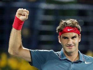 Federer sets up Djokovic clash