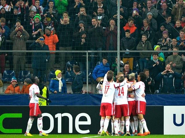Result: Red Bull Salzburg thrash Ajax