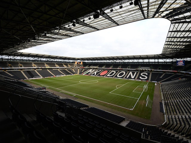 Result: Quick-fire Grigg double keeps MK Dons on course