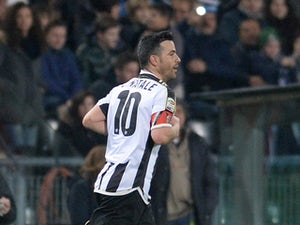Team News: Di Natale on the bench for Udinese