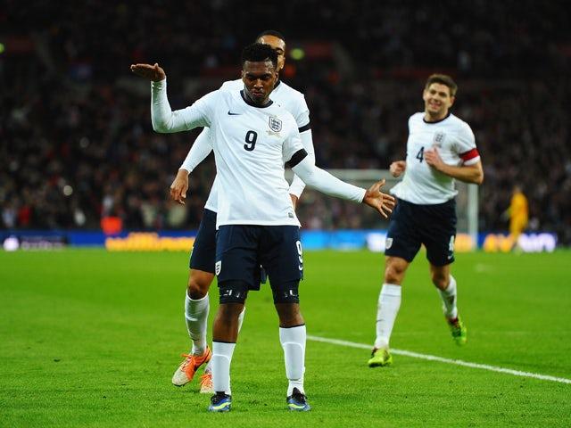 Result: Sturridge header wins it for England