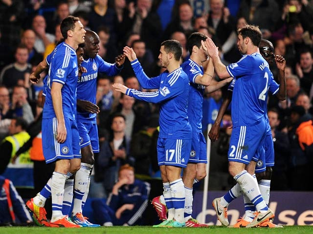Result: Chelsea go seven points clear