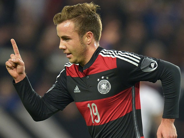 Result: Gotze's goal wins it for Germany