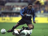Paul Ince in action for Inter Milan on May 21, 1997.