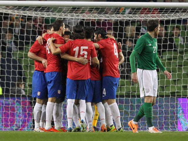 Result: Serbia stage comeback win