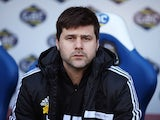 Southampton manager Mauricio Pochettino looks on during the Barclays Premier League match between Crystal Palace and Southampton at Selhurst Park on March 08, 2014