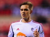 Bolton player Stuart Holden in action during the FA Cup Third Round Replay between Sunderland and Bolton Wanderers at Stadium of Light on January 15, 2013