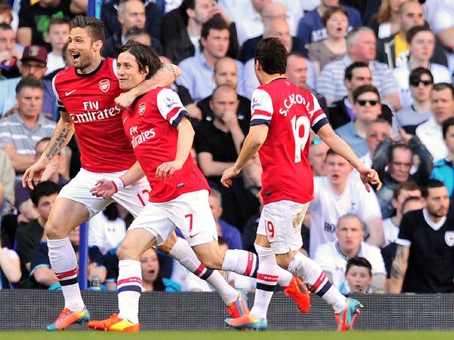 Result: Rosicky strike enough for Arsenal